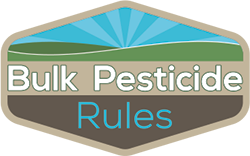 Bulk Pesticide Rules logo