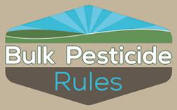 Bulk Pesticide Rules logo